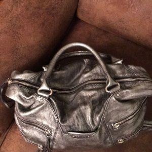 3a00486bdb Botkier Bags - botkier distressed silver leather satchel handbag